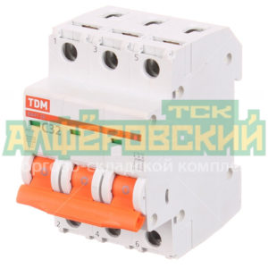 avtomaticheskij vykljuchatel trehpoljusnyj tdm electric sq0206 0112 32 a 4 5 ka 5ddcfaf8b386e 300x300 - Автоматический выключатель трехполюсный TDM Electric SQ0206-0112 32 А 4.5 кА