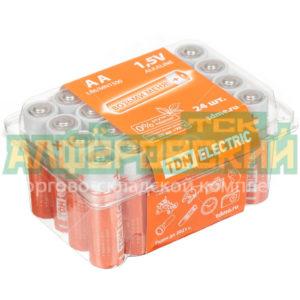 batarejka tdm electric aa lr06 alkaline pak 24 sq1702 0035 cena za 24 batarejki 5ddd35a4e8400 300x300 - Батарейка TDM Electric AA LR06 Alkaline PAK-24 SQ1702-0035, цена за 24 батарейки