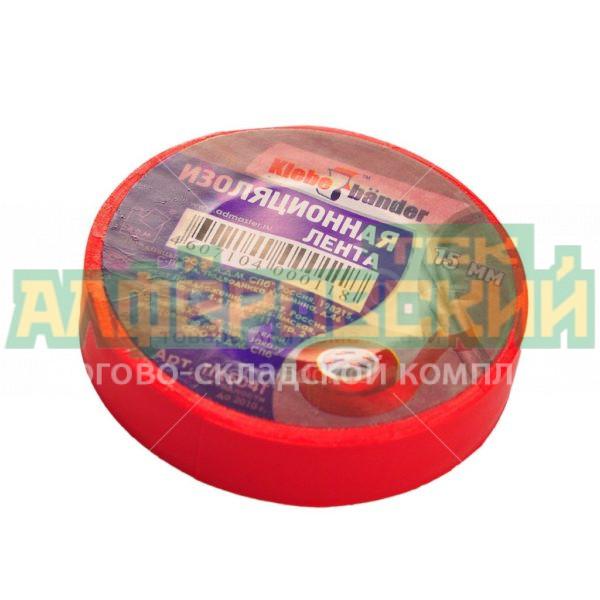 izolenta krasnaja 15 mm 20 m 5ddcf06801f39 600x600 - Изолента красная 15 мм, 20 м