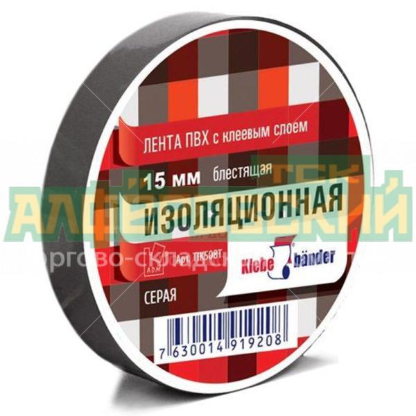 izolenta tik508t seraja 15 mm 20 m 5ddcf0870bc3e 600x600 - Изолента TIK508T серая 15 мм, 20 м