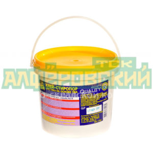 klej stroitelnyj quality stiroporovyj 1 5 kg 5ddbd9f651eb1 300x300 - Клей строительный Quality Стиропоровый, 1.5 кг