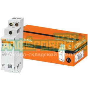 kontaktor tdm electric sq0213 0007 km63 2 25 1no modulnyj 5ddcfb1169ab5 300x300 - Контактор TDM Electric SQ0213-0007 КМ63/2-25 1НО модульный