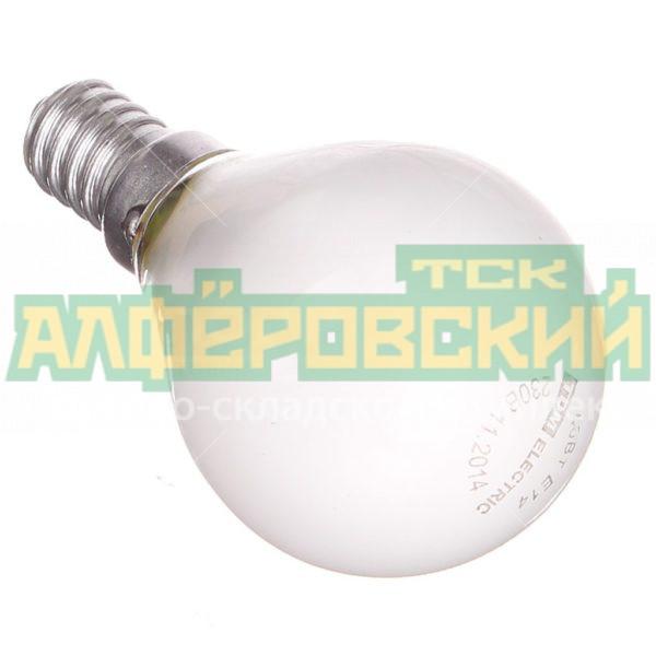 lampa nakalivanija tdm electric shar sq0332 0005 40 vt e14 matovaja 5ddcd1d6245cb 600x600 - Лампа накаливания TDM Electric Шар SQ0332-0005 40 Вт E14, матовая