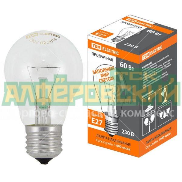 lampa nakalivanija tdm electric sq0332 0036 60 vt e27 5ddcd17090ac1 600x600 - Лампа накаливания TDM Electric SQ0332-0036, 60 Вт, E27