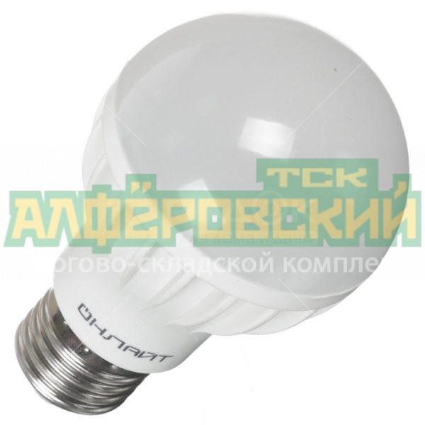 lampa svetodiodnaja onlajt a60 7 230 4k e27 7 vt e27 holodnyj belyj svet 5ddcd435815ce 600x600 - Лампа светодиодная Онлайт A60-7-230-4K-E27, 7 Вт, E27, холодный белый свет
