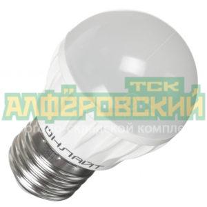 lampa svetodiodnaja onlajt g45 6 230 4k e27 6 vt e27 holodnyj belyj svet 5ddcd32baef48 300x300 - Лампа светодиодная Онлайт G45-6-230-4K-E27, 6 Вт, E27, холодный белый свет