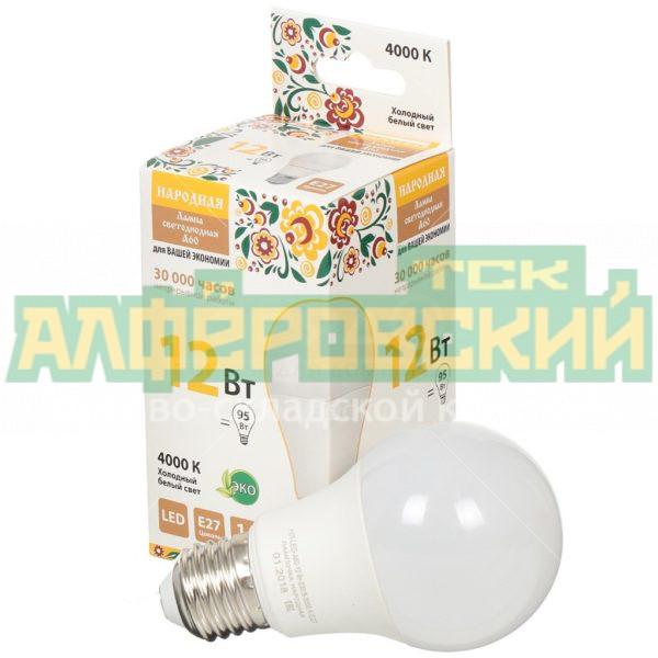 lampa svetodiodnaja tdm electric grusha sq0340 1512 12 vt e27 holodnyj belyj svet 5ddcd36a66d1c 600x600 - Лампа светодиодная TDM Electric Груша SQ0340-1512 12 Вт E27 холодный белый свет