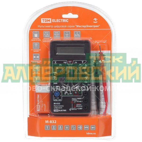 multimetr cifrovoj tdm electric masterjelektrik sq1005 0002 5ddcf03042864 600x600 - Мультиметр цифровой TDM Electric МастерЭлектрик SQ1005-0002