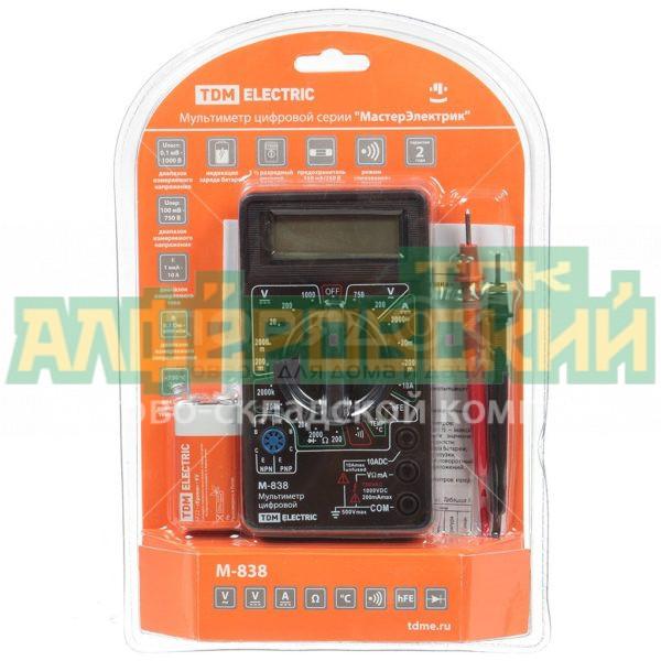 multimetr cifrovoj tdm electric masterjelektrik sq1005 0003 5ddcf02aa8047 600x600 - Мультиметр цифровой TDM Electric МастерЭлектрик SQ1005-0003