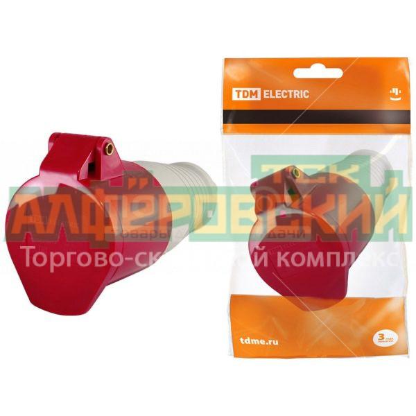 shtepsel tdm electric sq0603 0014 krasnyj 5ddceed12c8ae 600x600 - Штепсель TDM Electric SQ0603-0014 красный