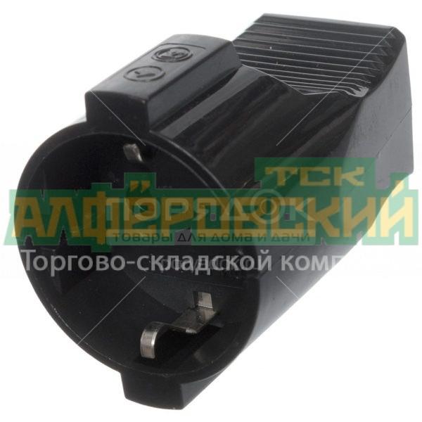 shtepsel tdm electric sq1806 0032 chernyj 5ddceec591649 600x600 - Штепсель TDM Electric SQ1806-0032 черный