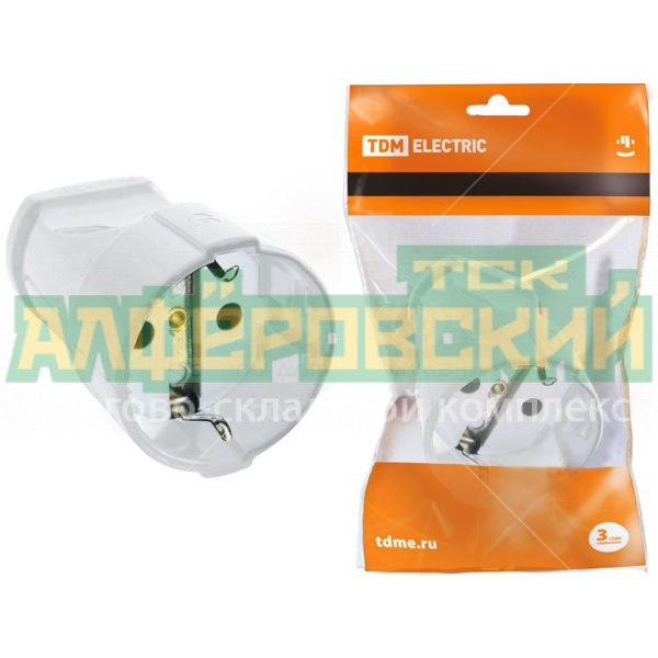 shtepsel tdm electric sq1806 0131 belyj 5ddceedcb3be0 600x600 - Штепсель TDM Electric SQ1806-0131 белый