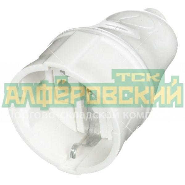 shtepsel tdm electric sq1806 0411 belyj 5ddceecb2995b 600x600 - Штепсель TDM Electric SQ1806-0411 белый