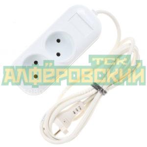 udlinitel jelektricheskij standart r 16 011 2 rozetki 2h0 75 5 m 5ddcece91f665 300x300 - Удлинитель электрический Стандарт Р-16-011 2 розетки 2х0.75, 5 м