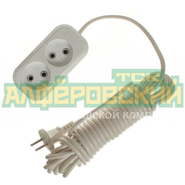udlinitel jelektricheskij lux o 2 rozetki 7 m 5def622b9f466 600x600 - Удлинитель электрический LUX O 2 розетки, 7 м