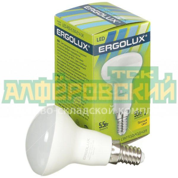 lampa svetodiodnaja ergolux led r50 5 5w 5 5 vt e14 teplyj belyj svet 5e67412450481 600x600 - Лампа светодиодная Ergolux LED-R50-5.5W, 5.5 Вт, E14, теплый белый свет
