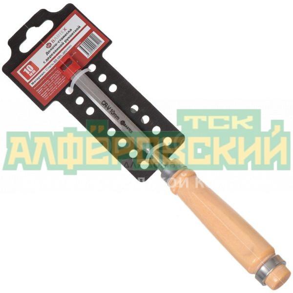 doloto stameska bartex s derevjannoj rukojatkoj 10 mm 5e8b9accb4191 600x600 - Долото-стамеска Bartex с деревянной рукояткой, 10 мм
