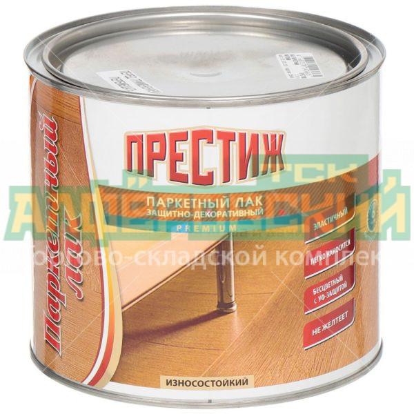 lak parketnyj prestizh prozrachnyj gljancevyj 1 9 kg 5eb025e207b7e 600x600 - Лак паркетный Престиж прозрачный глянцевый, 1.9 кг