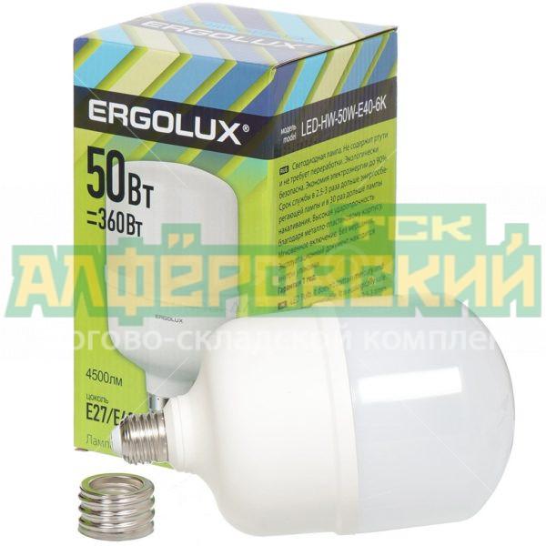 lampa svetodiodnaja ergolux 13 556 50 vt e40 e27 holodnyj belyj svet 5eb1155e97843 600x600 - Лампа светодиодная Ergolux 13556, 50 Вт, Е40/Е27, холодный белый свет