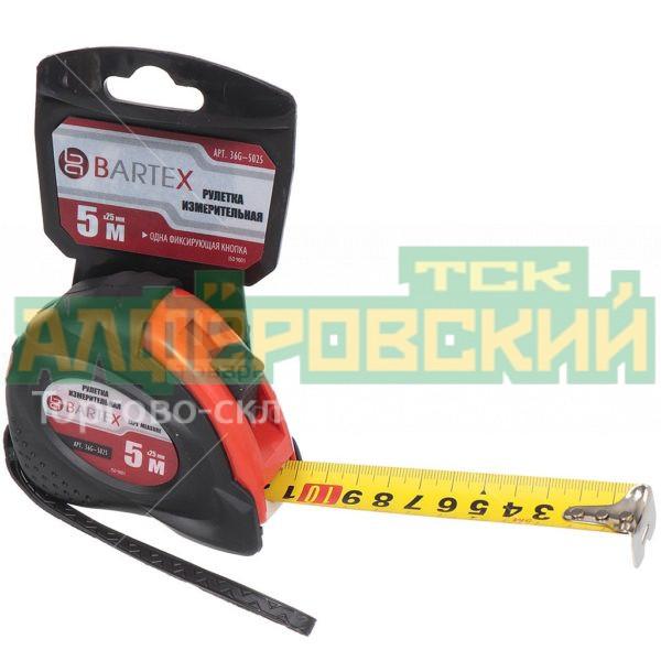 ruletka izmeritelnaja bartex jb 02 s fiksatorom 5 m 25 mm 5eb0721d241ba 600x600 - Рулетка измерительная Bartex JB-02 с фиксатором, 5 м, 25 мм