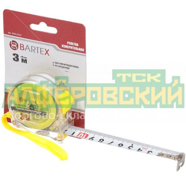 ruletka izmeritelnaja bartex prozrachnaja m 20 s fiksatorom 3 m 19 mm 5eb071f4dd9c7 600x600 - Рулетка измерительная Bartex Прозрачная M-20 с фиксатором, 3 м, 19 мм