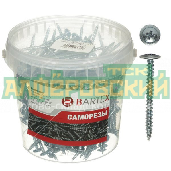samorez universalnyj s press shajboj bartex 500 sht 4 2h32 mm 5eb0742ebe7fe 600x600 - Саморез универсальный с пресс-шайбой Bartex 500 шт, 4.2х32 мм