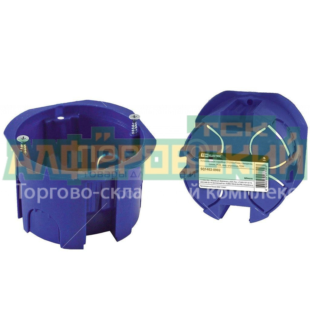 podrozetnik tdm electric sq1402 0902 68h45 mm 5f047f5edf680 - Подрозетник TDM Electric SQ1402-0902, 68х45 мм