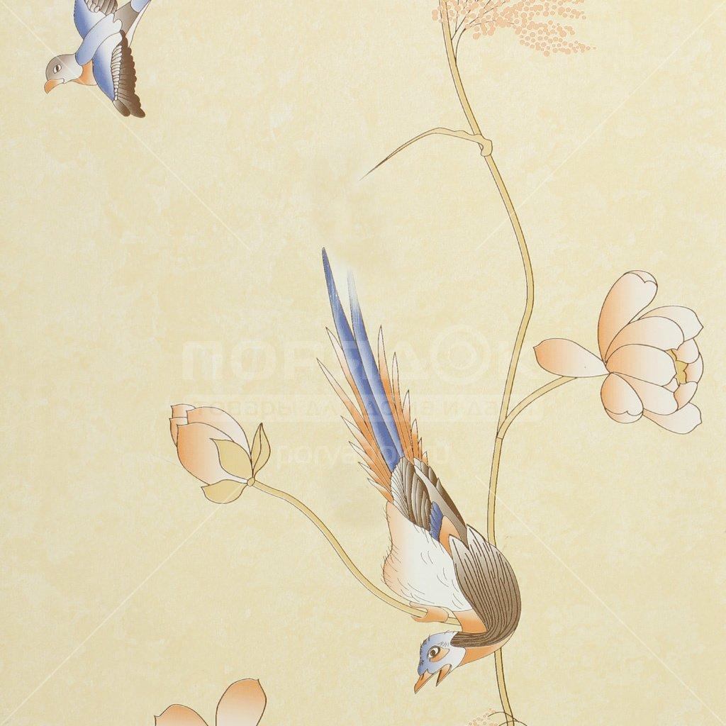 pvh panel stenoplast 9005 1 rajskie pticzy 0 25h2 7 m 5f019574de357 - ПВХ панель Стенопласт 9005/1 райские птицы, 0.25х2.7 м