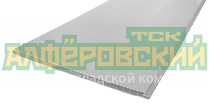 pvh panel vek lakirovannaya belaya 0 25h2 7 m 5f140b41b5308 - ПВХ панель ВЕК лакированная белая, 0.25х2.7 м
