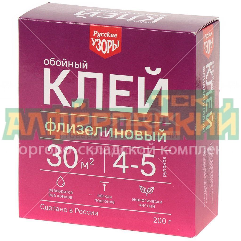 klej dlya flizelinovyh oboev russkie uzory 200 g 5f4cfa531a800 - Клей для флизелиновых обоев Русские узоры, 200 г