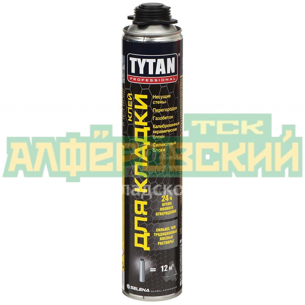 pena klej tytan professional dlya kladki 870 ml 10575 5f314763159e2 - Пена-клей Tytan Professional для кладки, 870 мл, 10575