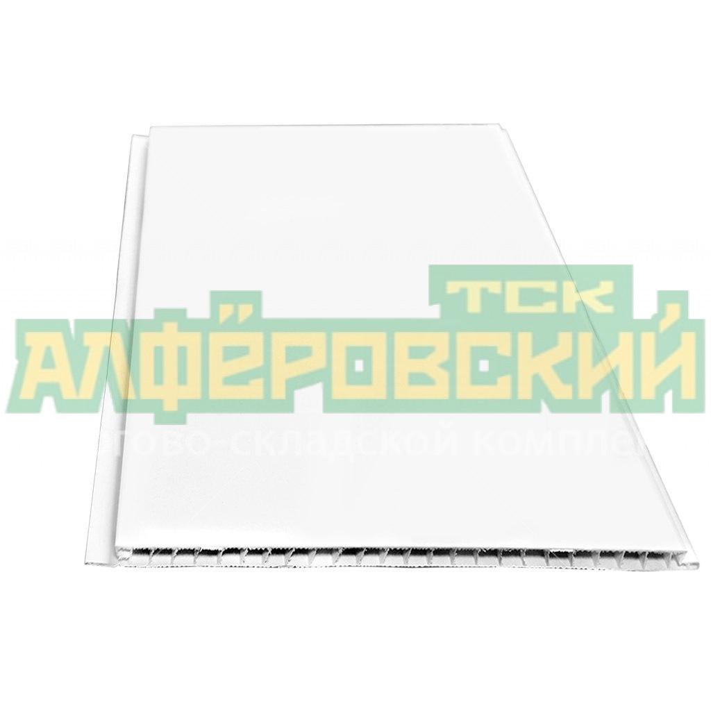 pvh panel stenoplast matovaya belaya 0 25h2 7 m 5f2fba28cf6d2 - ПВХ панель Стенопласт матовая белая, 0.25х2.7 м