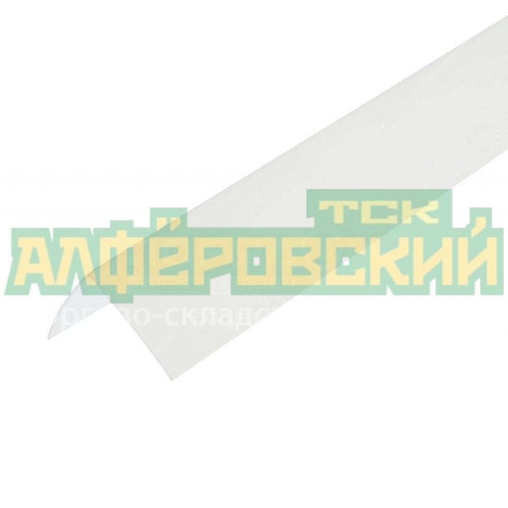 pvh ugol prostoj stenoplast belyj 4040 mm 5f5dc2c89e1fd - ПВХ угол простой Стенопласт белый 40*40 мм