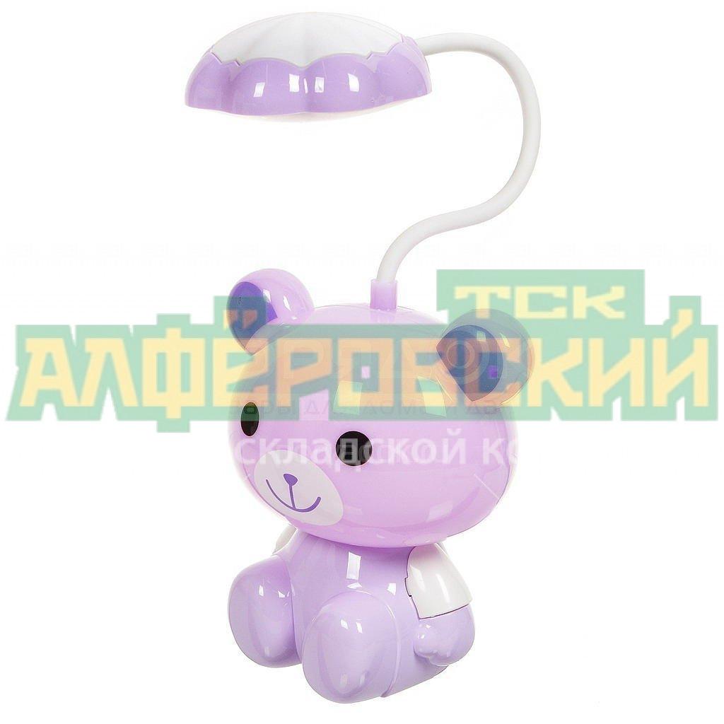 svetilnik nochnik medved spe16769 559 1 purpurnyj s usb zaryadkoj 5f573333c03fc - Светильник-ночник Медведь SPE16769-559-1 пурпурный с USB зарядкой