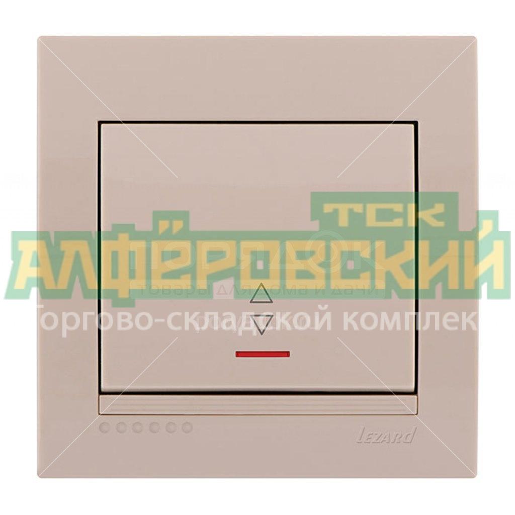pereklyuchatel skrytoj ustanovki odnoklavishnyj lezard deriy 702 0303 114 kremovyj 5fd875a3e1793 - Переключатель скрытой установки одноклавишный Lezard Deriy 702-0303-114, кремовый