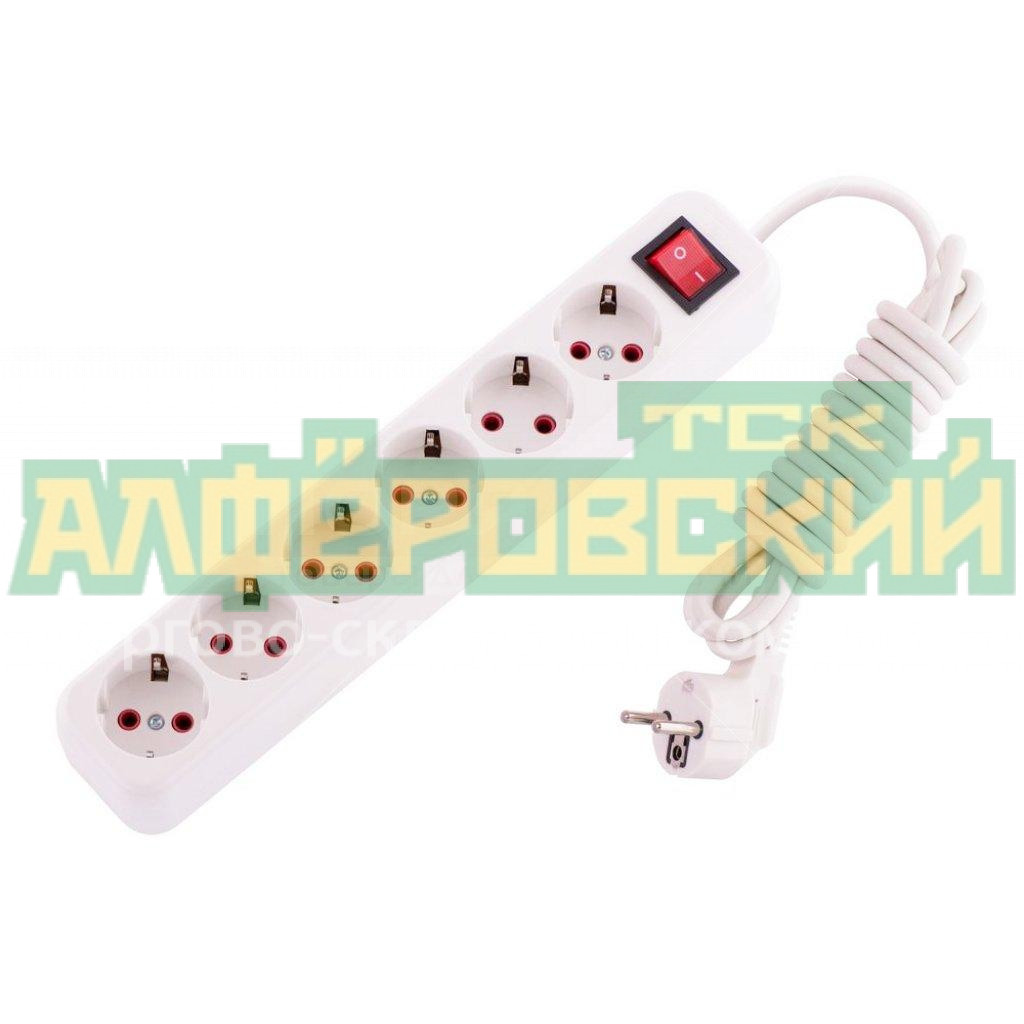 udlinitel elektricheskij lila 721 0603 602 6 rozetki 3 m 5fd87e9068cd7 - Удлинитель электрический Lila 721-0603-602 6 розетки, 3 м