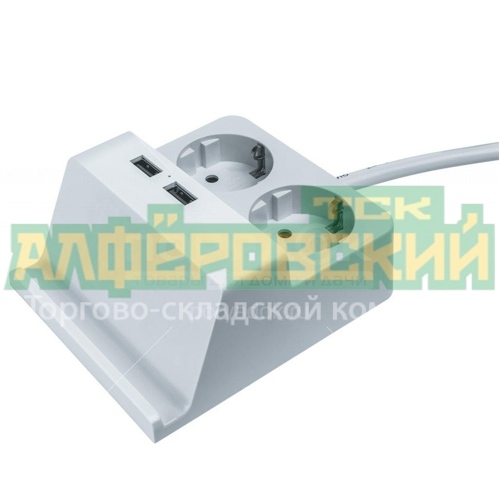 udlinitel elektricheskij navigator 61 457 npe usb03 02 150 e 3x1 2 rozetki s zazemleniem 1 5 m c razemom usb 5fd87e50e6a48 - Удлинитель электрический Navigator 61 457 NPE-USB03-02-150-E-3X1, 2 розетки с заземлением, 1.5 м, c разъемом USB